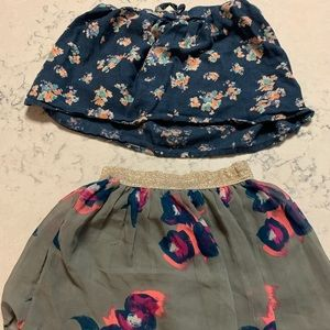 Little girls Skirts Size 5 or XS